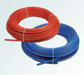 pex-b pipe coated with spiral pipe